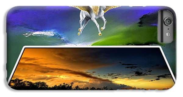 Pegasus In Flight IPhone 6 Plus Case