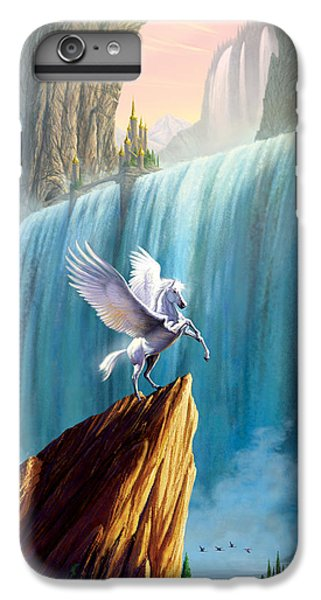 Pegasus Kingdom IPhone 6 Plus Case by Garry Walton