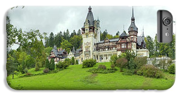 Peles Castle In The Carpathian IPhone 6 Plus Case by Panoramic Images