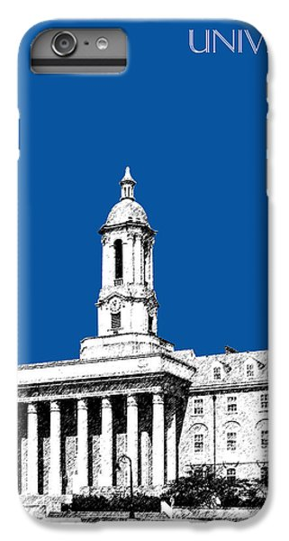 Penn State University iPhone 6 Plus Case - Penn State University - Royal Blue by DB Artist