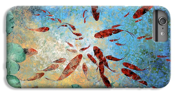 Koi Rotanti IPhone 6 Plus Case by Guido Borelli