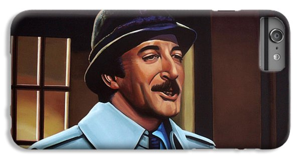 Peter Sellers As Inspector Clouseau  IPhone 6 Plus Case by Paul Meijering