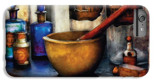 Wizard iPhone 6 Plus Case - Pharmacist - Mortar And Pestle by Mike Savad