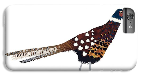 Pheasant IPhone 6 Plus Case by Isobel Barber