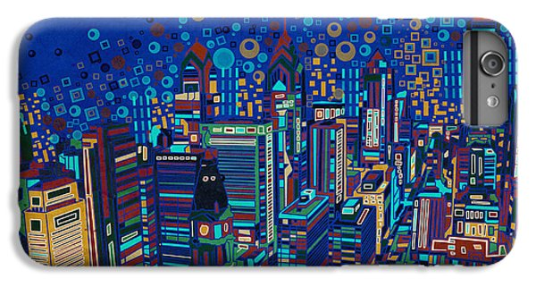 Philadelphia Panorama Pop Art 2 IPhone 6 Plus Case