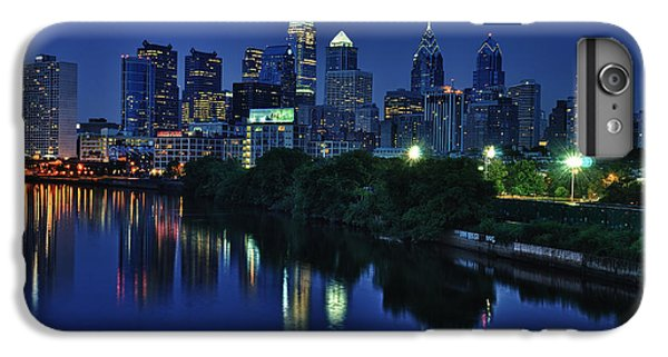 Philly Skyline IPhone 6 Plus Case by Mark Fuller