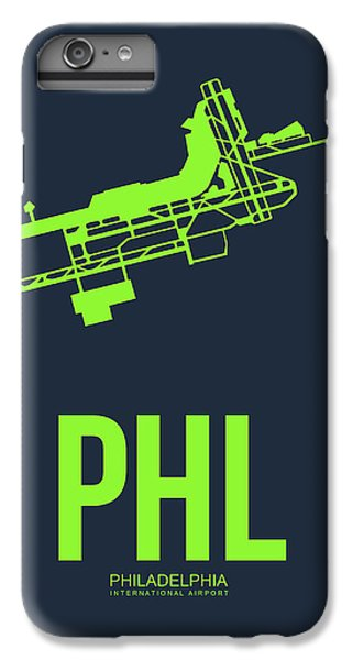 Philadelphia iPhone 6 Plus Case - Phl Philadelphia Airport Poster 3 by Naxart Studio