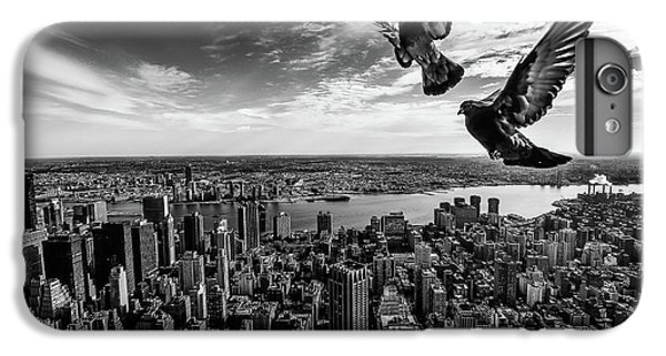 Pigeons On The Empire State Building IPhone 6 Plus Case