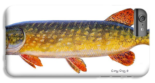 Catfish iPhone 6 Plus Case - Pike by Carey Chen