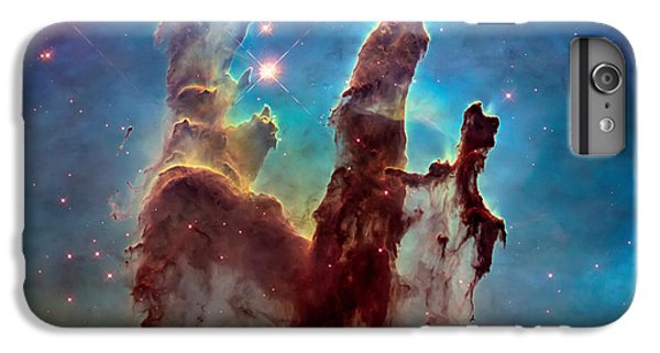 Science Fiction iPhone 6 Plus Case - Pillars Of Creation In High Definition - Eagle Nebula by Jennifer Rondinelli Reilly - Fine Art Photography