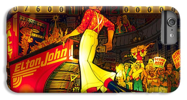 Elton John iPhone 6 Plus Case - Pinball Machine Capt. Fantastic by Terry DeLuco