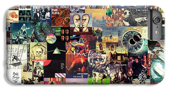 Rock And Roll iPhone 6 Plus Case - Pink Floyd Collage II by Zapista