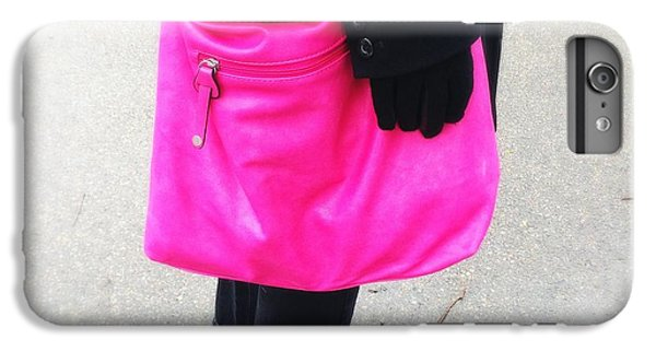 Pink Shoulder Bag IPhone 6 Plus Case