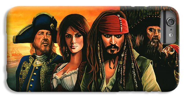 Pirates Of The Caribbean  IPhone 6 Plus Case by Paul Meijering