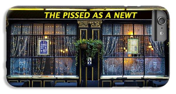 Pissed As A Newt Pub  IPhone 6 Plus Case by David Pyatt