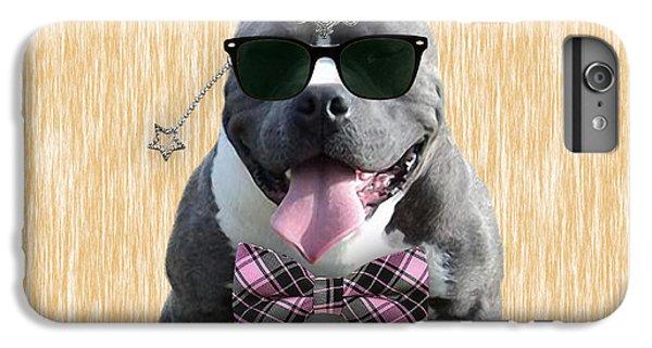 Pitbull Bowtie Collection IPhone 6 Plus Case