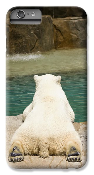 Playful Polar Bear IPhone 6 Plus Case by Adam Romanowicz