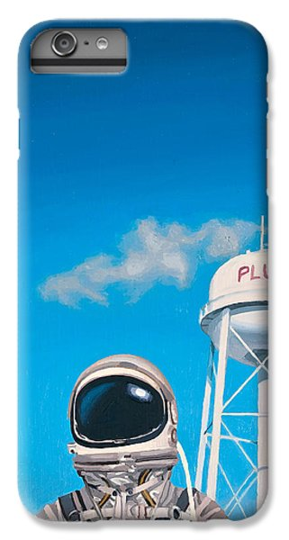 IPhone 6 Plus Case featuring the painting Pluto by Scott Listfield