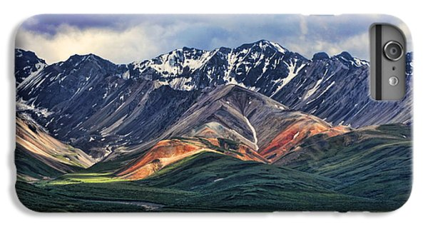 Mountain iPhone 6 Plus Case - Polychrome by Heather Applegate