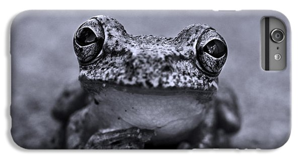 Pondering Frog Bw IPhone 6 Plus Case