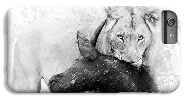 Lion iPhone 6 Plus Case - Poor Buffalo by Thomas Froemmel