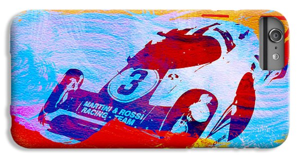 Martini iPhone 6 Plus Case - Porsche 917 Martini And Rossi by Naxart Studio