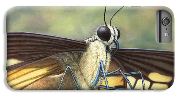 Aliens iPhone 6 Plus Case - Portrait Of A Butterfly by James W Johnson