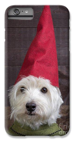 Elf iPhone 6 Plus Case - Portrait Of A Garden Gnome by Edward Fielding