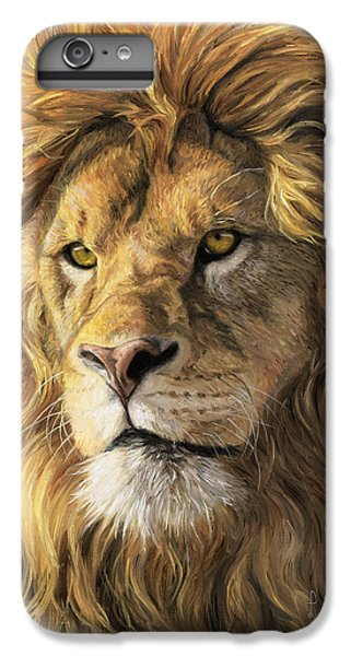 Wildlife iPhone 6 Plus Case - Portrait Of A Lion by Lucie Bilodeau