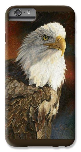 Portrait Of An Eagle IPhone 6 Plus Case by Lucie Bilodeau