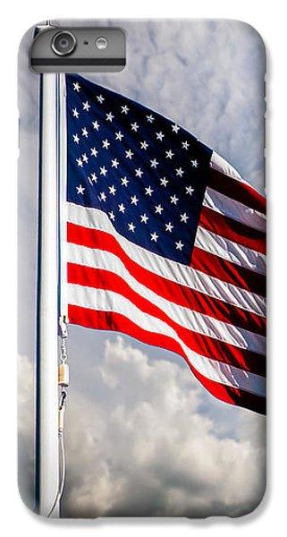 Portrait Of The United States Of America Flag IPhone 6 Plus Case
