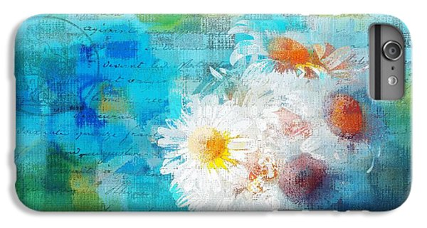 Pot Of Daisies 02 - J3327100-bl1t22a IPhone 6 Plus Case by Variance Collections