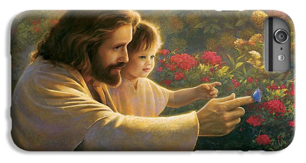 Butterfly iPhone 6 Plus Case - Precious In His Sight by Greg Olsen