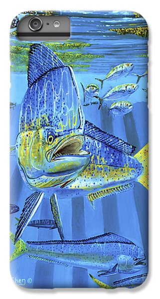 Salmon iPhone 6 Plus Case - Predator Off0067 by Carey Chen