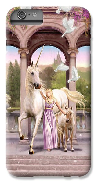 Princess Of The Unicorns Variant 1 IPhone 6 Plus Case by Garry Walton