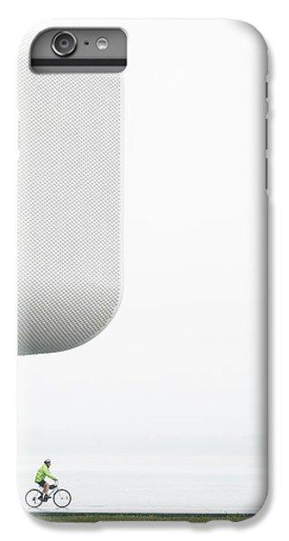 Building iPhone 6 Plus Case - Promenade / Paseo Por La Costa by Jesus Concepcion
