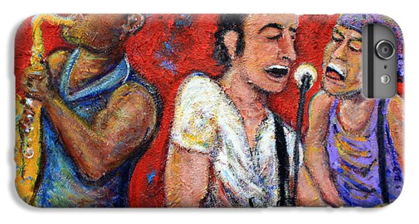 Musician iPhone 6 Plus Case - Prove It All Night Bruce Springsteen And The E Street Band by Jason Gluskin