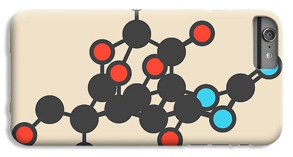 Newts iPhone 6 Plus Case - Pufferfish Neurotoxin Molecule by Molekuul
