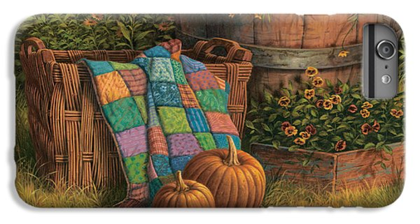 Pumpkins And Patches IPhone 6 Plus Case by Michael Humphries