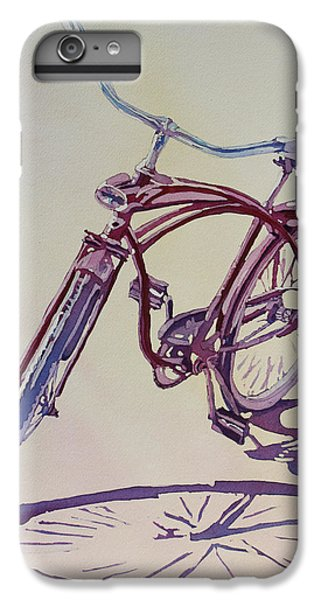 Bicycle iPhone 6 Plus Case - Pure Nostalgia  by Jenny Armitage