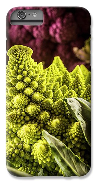 Purple And Romanesque Cauliflowers IPhone 6 Plus Case by Aberration Films Ltd