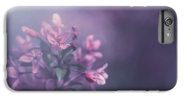 Flowers iPhone 6 Plus Case - Purple by Carrie Ann Grippo-Pike