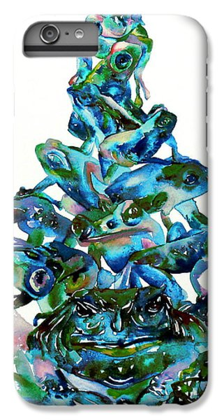 Pyramid Of Frogs And Toads IPhone 6 Plus Case