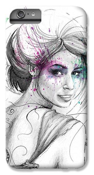 Beautiful iPhone 6 Plus Case - Queen Of Butterflies by Olga Shvartsur