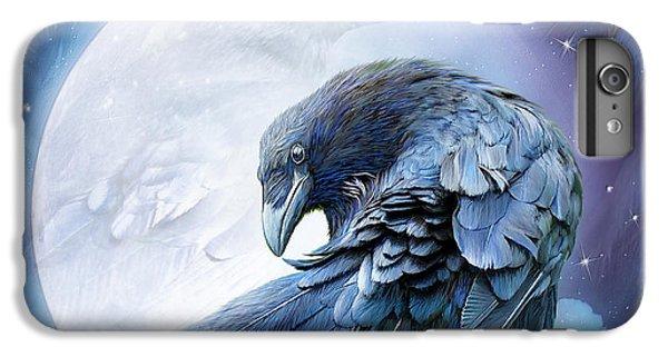 Raven Moon IPhone 6 Plus Case by Carol Cavalaris