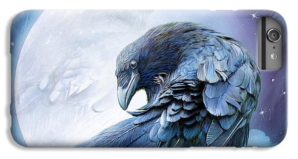 Raven Moon IPhone 6 Plus Case by Carol Cavalaris