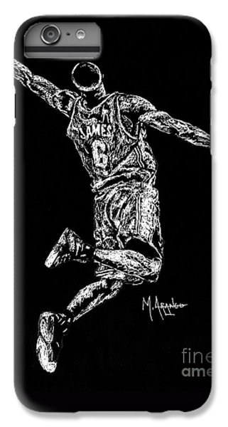 Reaching For Greatness #6 IPhone 6 Plus Case by Maria Arango