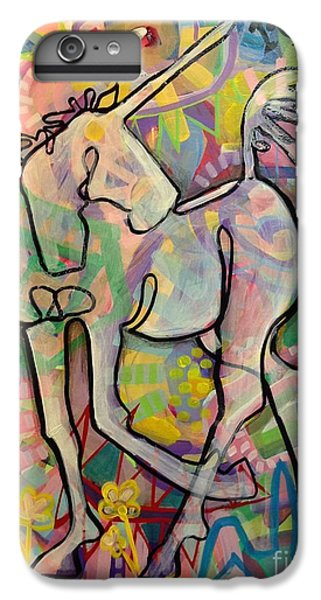 Unicorn iPhone 6 Plus Case - Reclaim Magic by Kimberly Santini