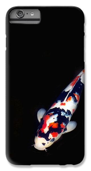 Goldfish iPhone 6 Plus Case - Red And Black Koi 2 by Rebecca Cozart