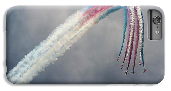 Jet iPhone 6 Plus Case - Red Arrows by